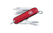 Victorinox Kleines Taschenwerkzeug Classic 58mm, rubin transp.